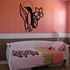 Penguin Moon Leaf and Flower Decal
