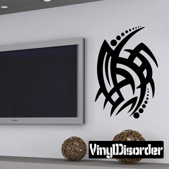 Classic Tribal Wall Decal - Vinyl Decal - Car Decal - DC 083