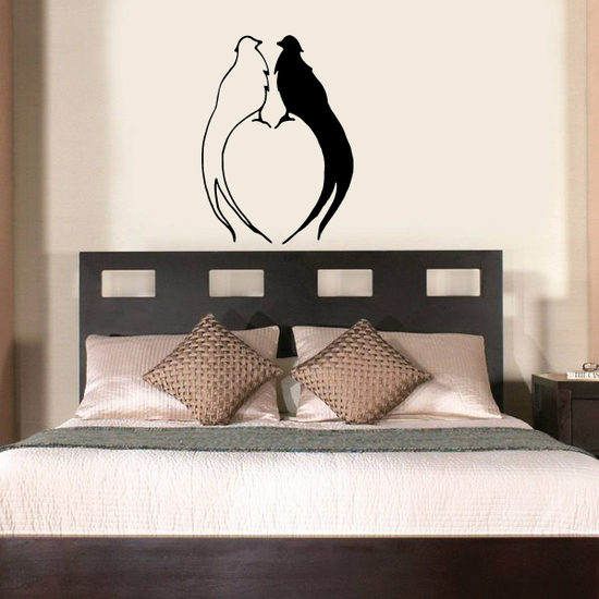 Two Fowl Lovers Decal
