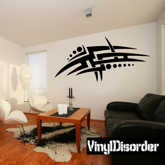 Classic Tribal Wall Decal - Vinyl Decal - Car Decal - DC 155