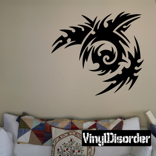 Classic Tribal Wall Decal - Vinyl Decal - Car Decal - DC 178