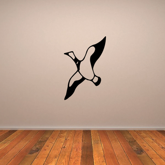 Goose Soaring Decal