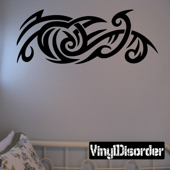 Classic Tribal Wall Decal - Vinyl Decal - Car Decal - DC 186