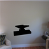Anvil Tilted Left Silhouette Wall Decal