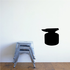 Anvil on Log Silhouette Wall Decal