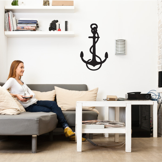 Marines Anchor Decal
