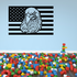 America Flag with Eagle Decal