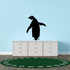 Waddling Penguin Decal