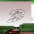 Surfer Riding A Wave Surfing Wall Decal - Vinyl Decal - Car Decal - MC001