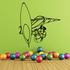 Surfing Wall Decal - Vinyl Decal - Car Decal - CDS001