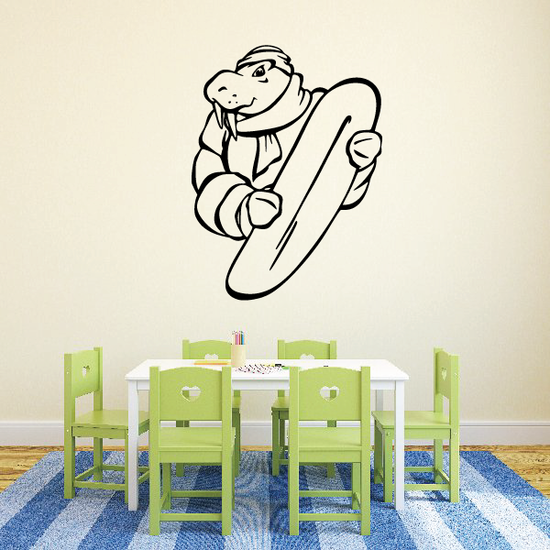 Surfing Wall Decal - Vinyl Decal - Car Decal - CDS003