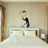 Loopy Neck Egret Decal