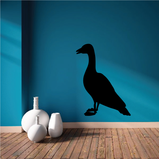 Goose Standing Decal