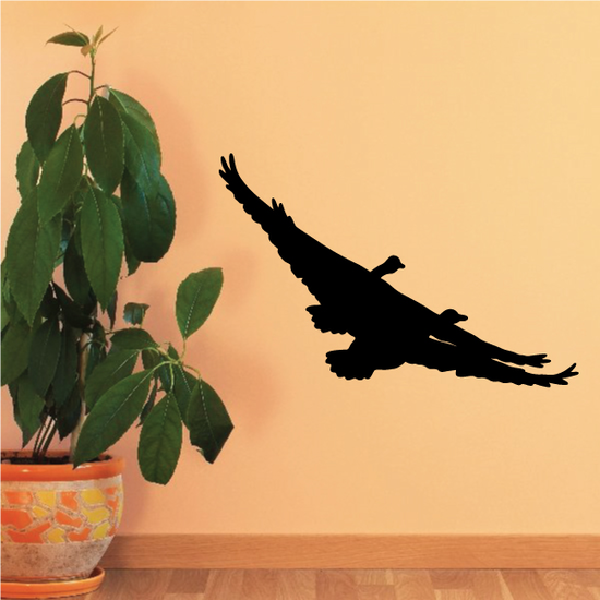 Double Goose Flying Decal
