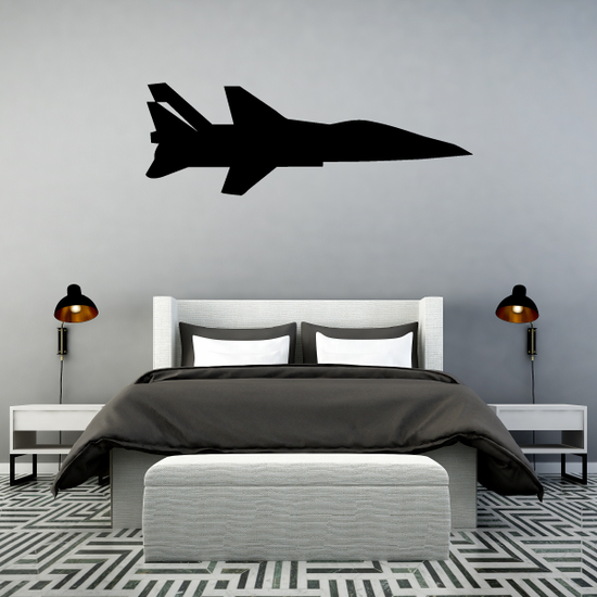 Fighter Jet Profile Decal