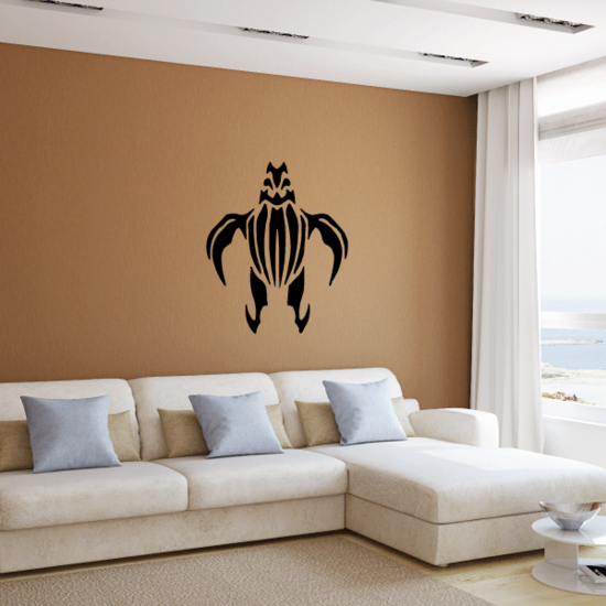 Hawaiian Turtle Style Decal