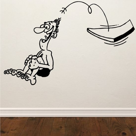 Diving Wall Decal - Vinyl Decal - Car Decal - Bl006
