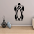Abstract Turtle with Claws Decal