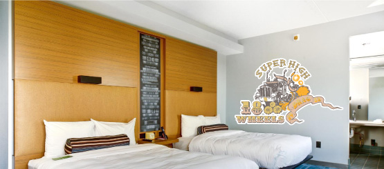 Rock and Roll Wall Decals
