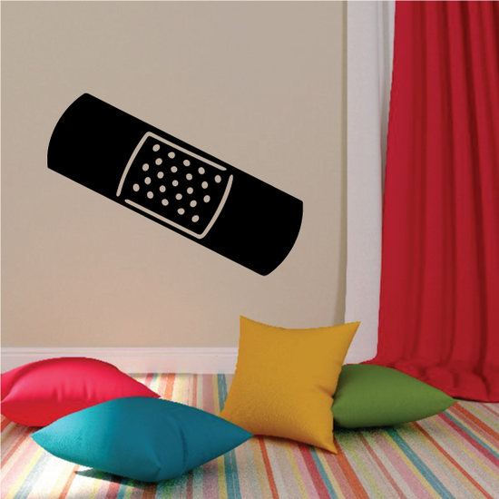 Band Aid Center Holes Decal