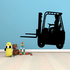 Riding Telescopic Forklift Decal
