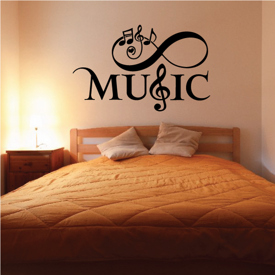 Infinity Music Decal