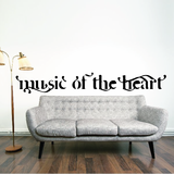 Music of the heart Decal