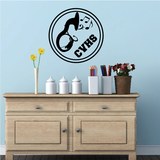 School Marching Band Decal