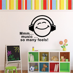 Music... So many Feels Decal