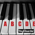 Learn to Play Piano Notes A through G Decal Kit