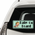 Young Baby on Board Sticker