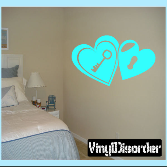 Hearts Jc014 Vinyl Decal Great For Cars Or Walls Sticker