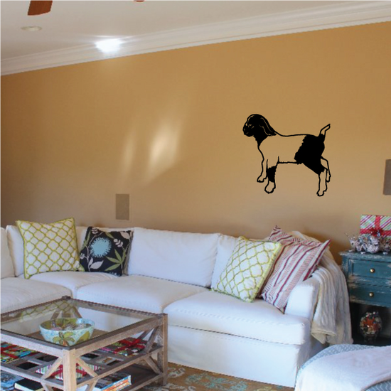 Looking Off Boer Goat Decal