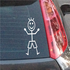 Boy Smiling Decal