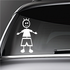 Boy Smiling Arms Out Decal