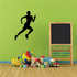 Track And Field Runner Wall Decal - Vinyl Decal - Car Decal - NS006