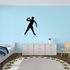 Track And Field Shot-Put Wall Decal - Vinyl Decal - Car Decal - NS006