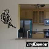 Anime Fighter Decals