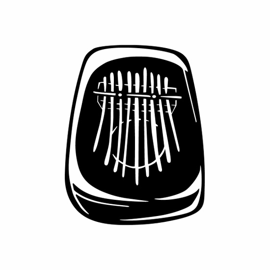Kalimba Detailed Decal
