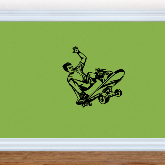 Skateboarding Wall Decal - Vinyl Decal - Car Decal - CDS021