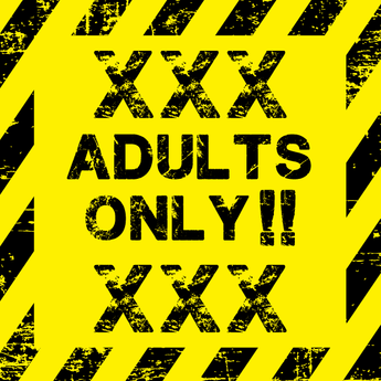 Custom XXX Rated Adult Vinyl Sticker