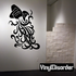Zodiac Aquarius Wall Decal - Vinyl Decal - Car Decal - CC043