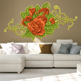 Illustrated Flower Stickers
