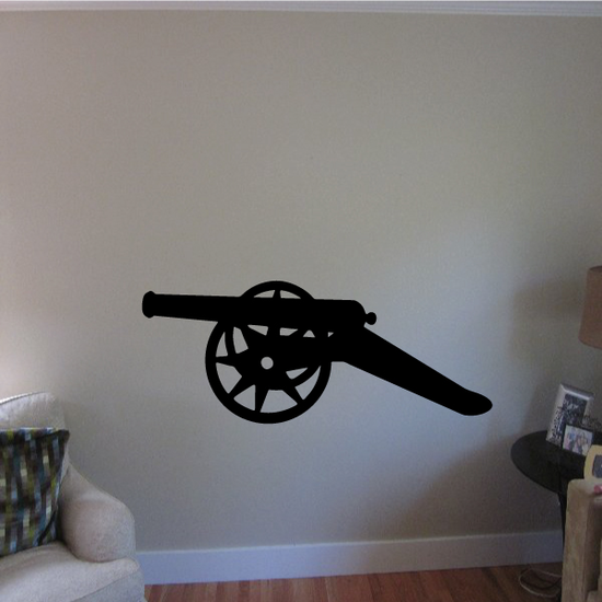 Iron Cannon Decal