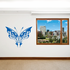 Butterfly Wall Decal - Vinyl Decal - Car Decal - SM037