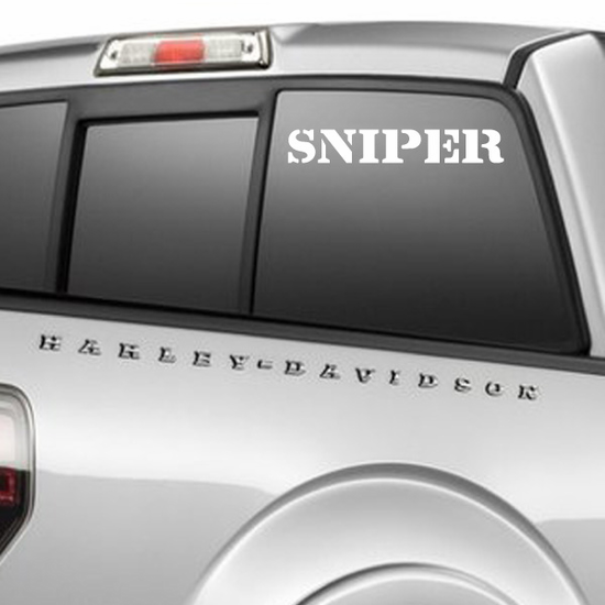 Sniper Decal