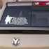 Valley of the Shadow of Death Quote Decal