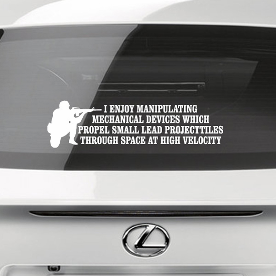 Lead Projectiles Decal