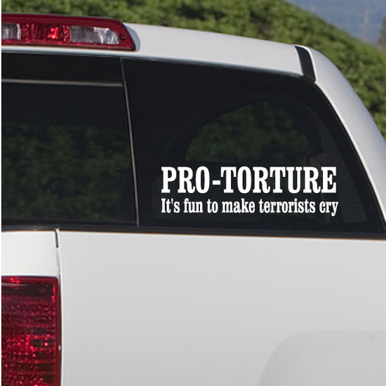 Pro Torture Decal