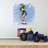 Ice Skating Wall Decal - Vinyl Sticker - Car Sticker - Die Cut Sticker - SMcolor029